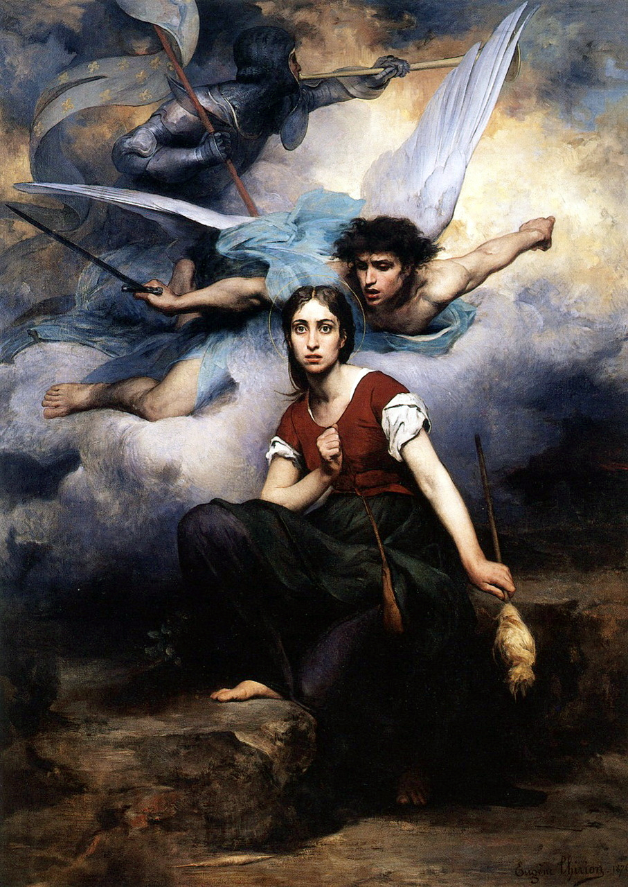 Joan with the Angel