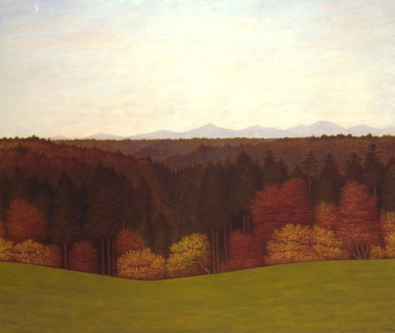 Karl Haider - Über allen Gipfeln ist Ruh, 1912