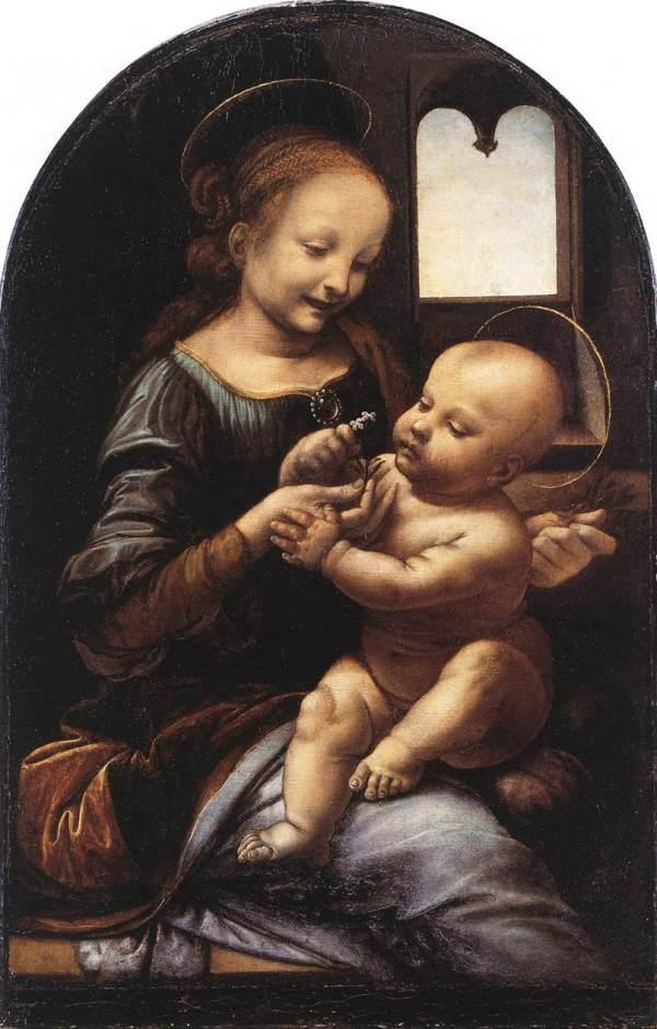 Leonardo Da Vinci Paintings Madonna