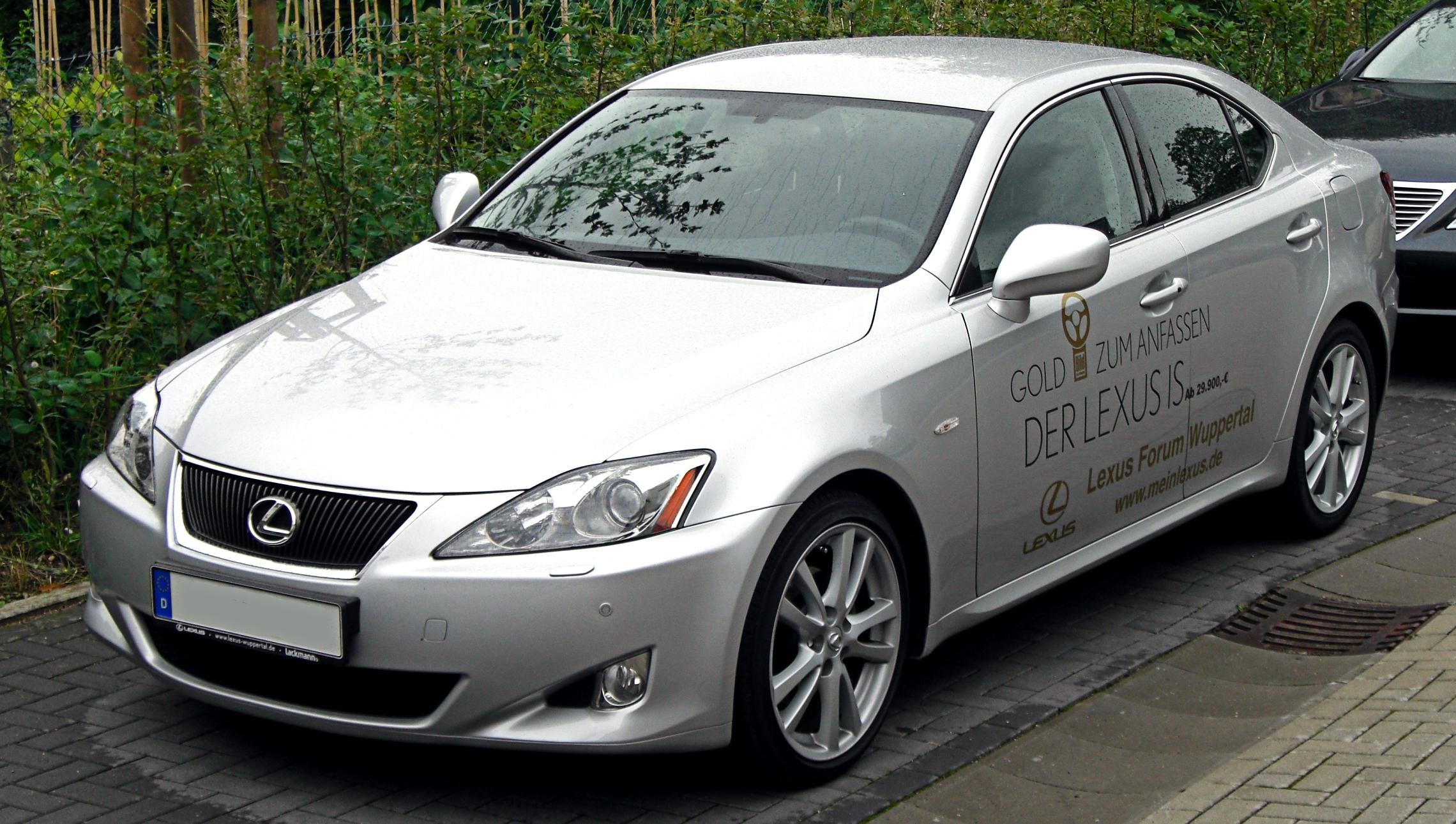 Lexus IS – wolna encyklopedia