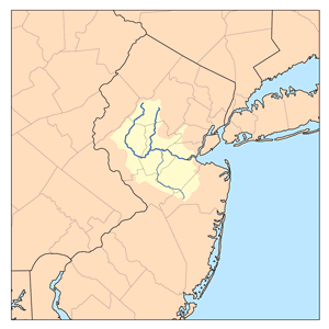 Raritan River watershed: empties near Staten I...