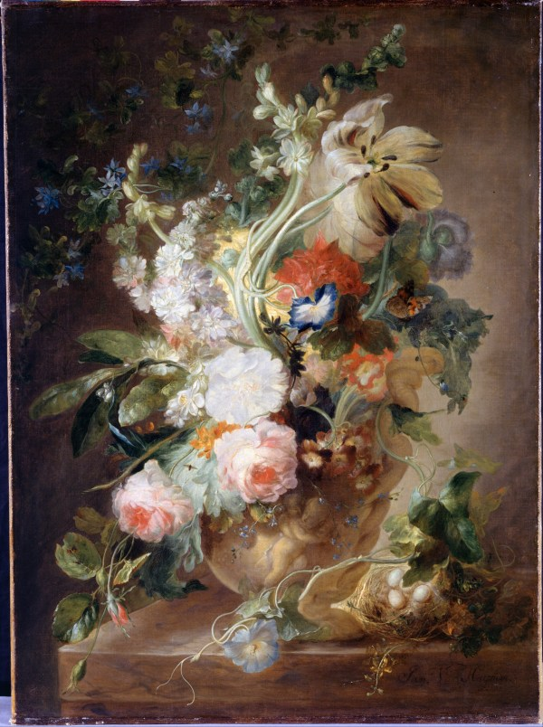 Jan Van Huysum Vase with Flowers