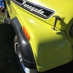 File 1974 Jeep Cj 5 Renegade V8 In Yellow All Original At 2015 Aaca Eastern Regional Fall Meet 6of7 Jpg Wikimedia Commons