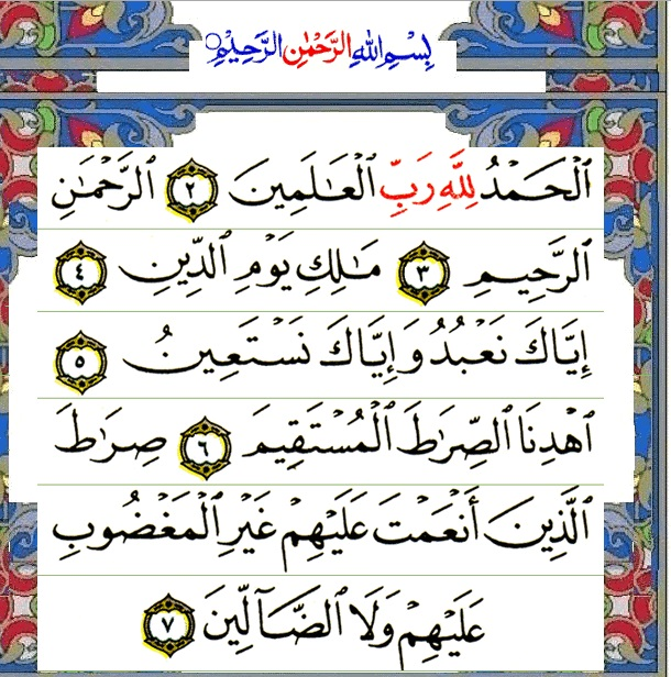 Commentary on the Holy Quran Surah AlFateha  Wikiwand