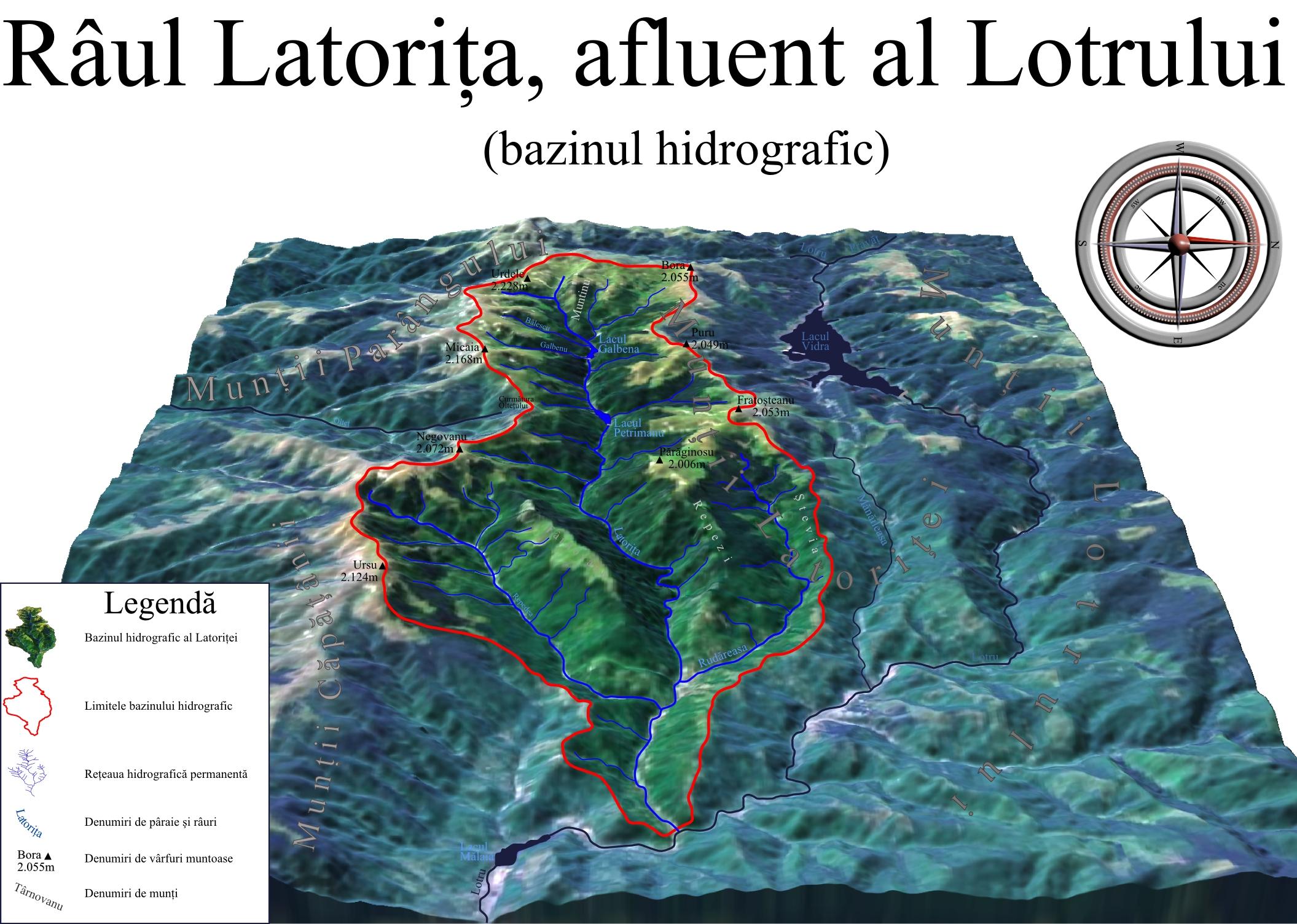 File Bazinul Hidrografic Al Raului Latorita Romania