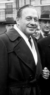 Entertainer Jack Benny, 1958