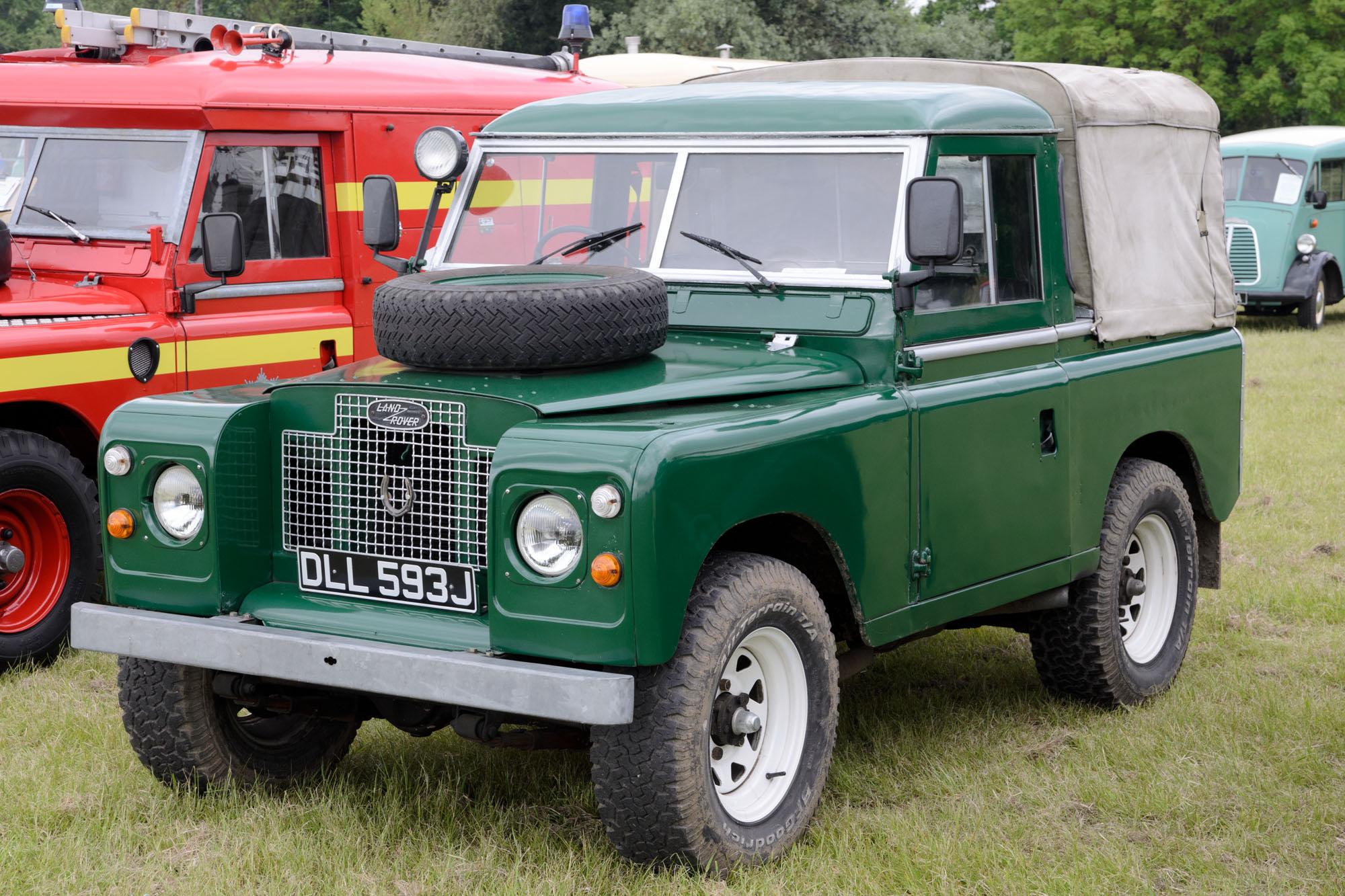 File Land Rover Series IIA 2 Door Pickup 1971