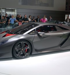 the sesto elemento concept on display at the 2010 paris motor show [ 2605 x 1702 Pixel ]