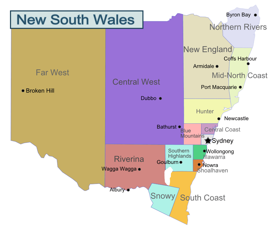 New South Wales Travel Guide At Wikivoyage