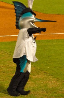 Miami Marlins Mascot