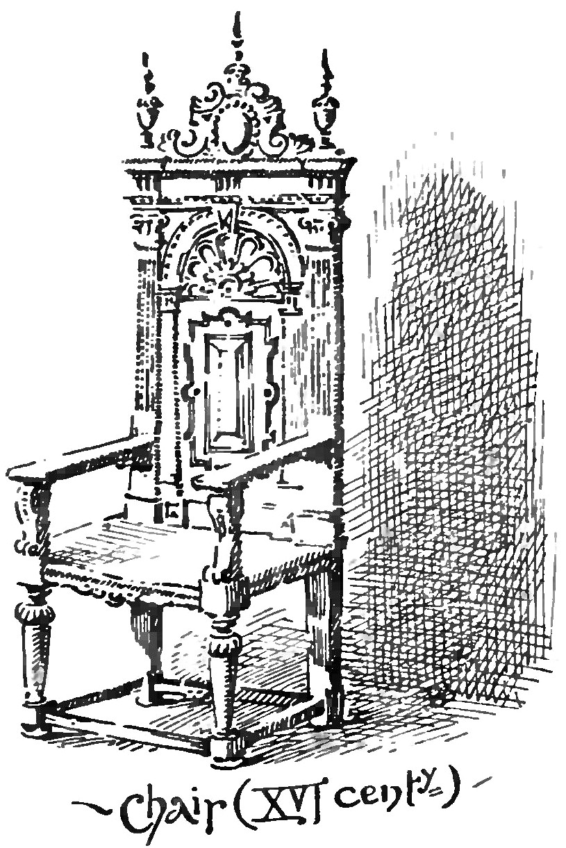 File:Chair, XVI-century (An Old English Home and Its