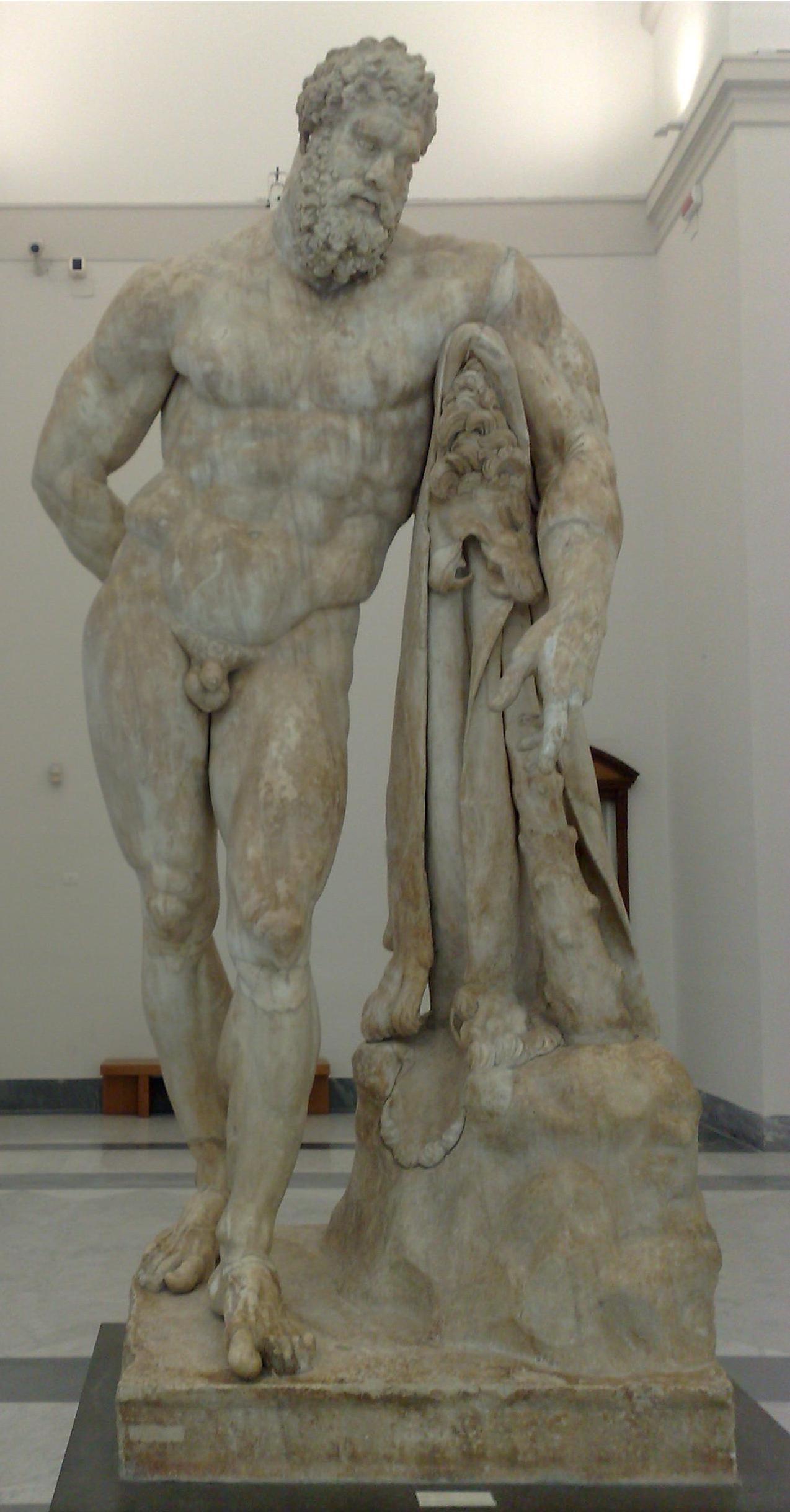 Italiano: Ercole Farnese (Museo Archeologico N...