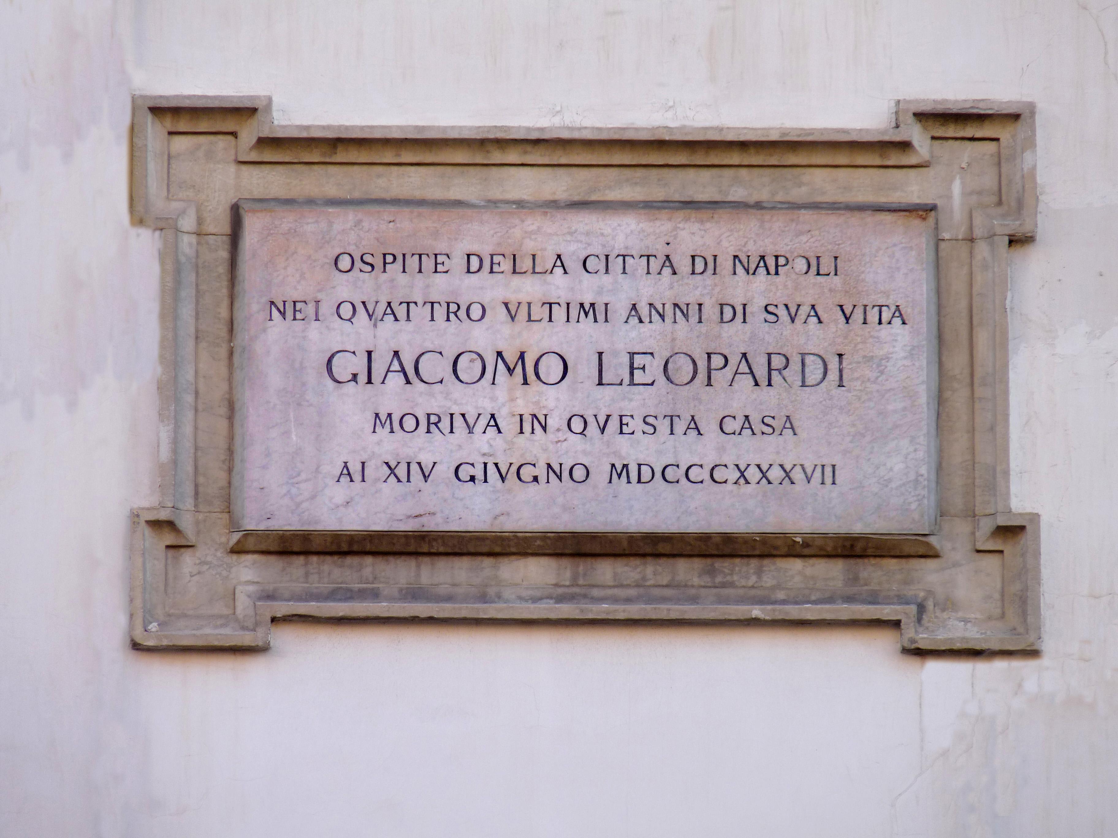 FileLapide su Via Santa Teresa degli Scalzi NapoliJPG  Wikipedia