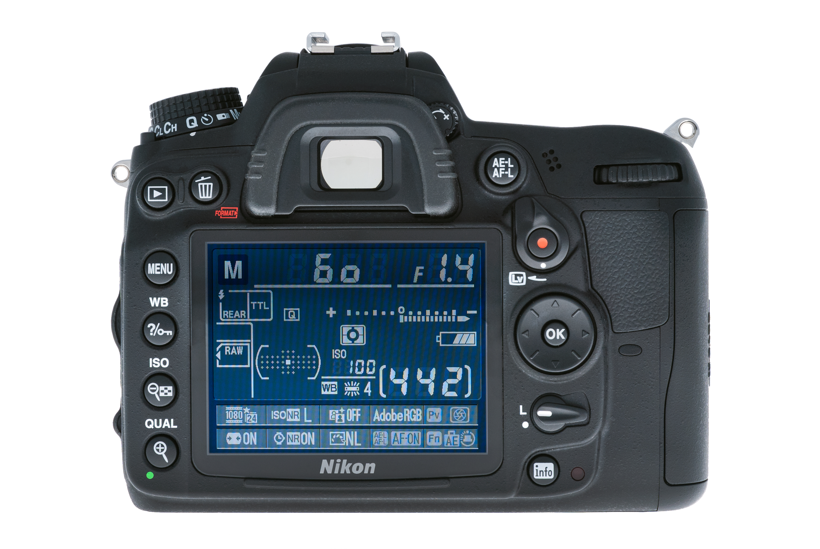 English: The Nikon D7000 is a 16.2 megapixel d...