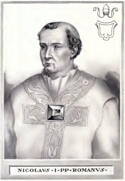 sveti Nikolaj I. - papež