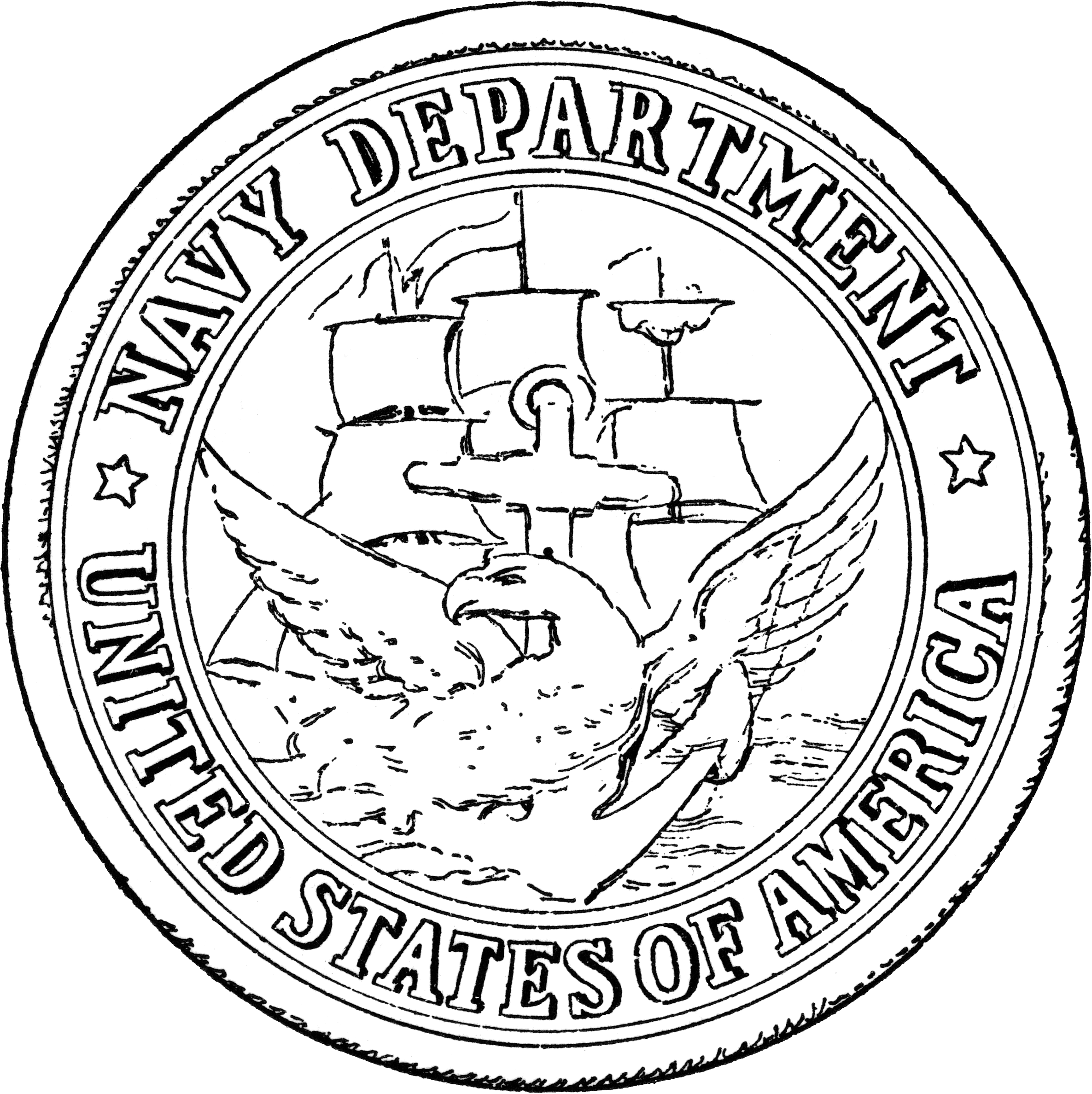 File Seal Of The United States Department Of The Navy