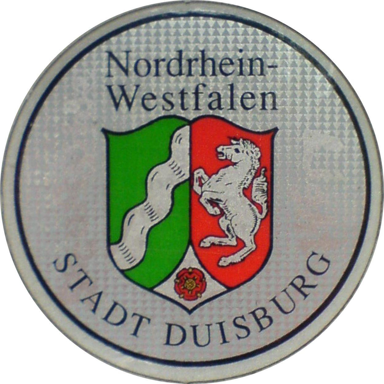 FileStadt DuisburgKFZZulassungsplakette neue Ausfhrung