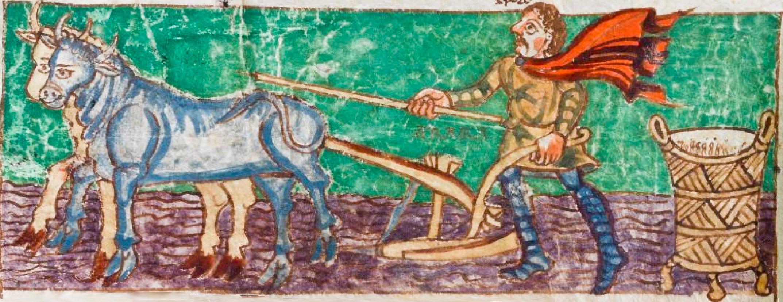 9th century Carolingian manuscript