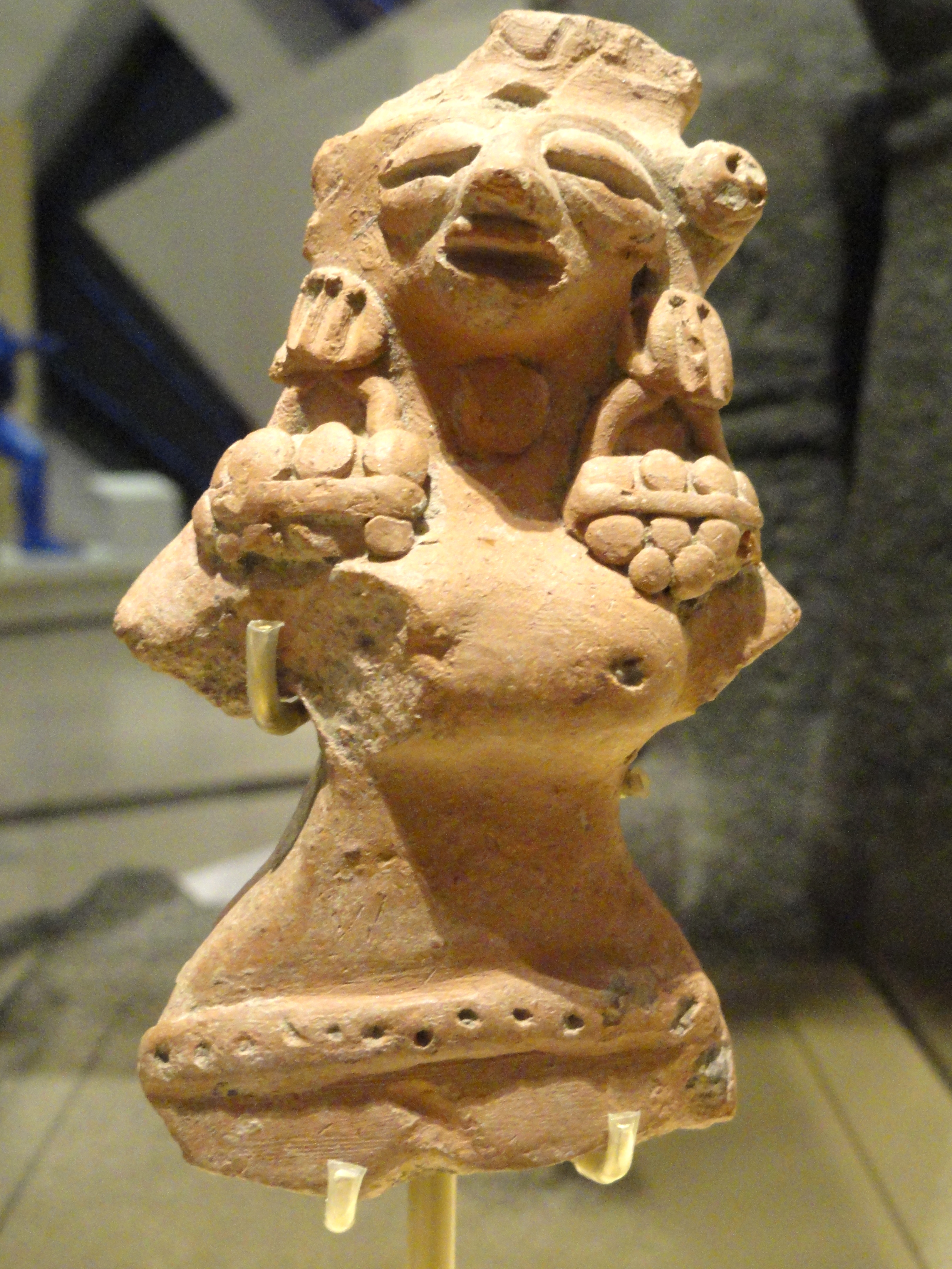 File Female Figure Possibly A Fertility Goddess Indus