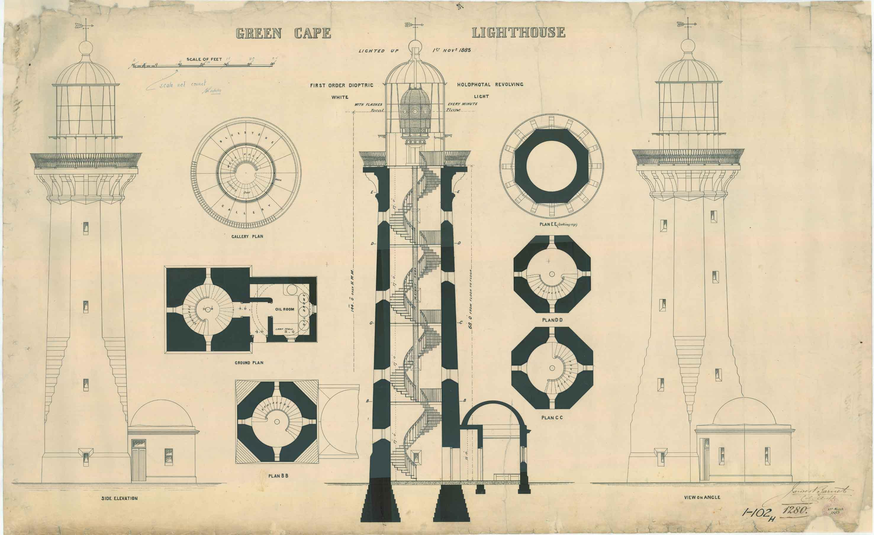 build diy lighthouse plans 5 ft pdf plans wooden trestle