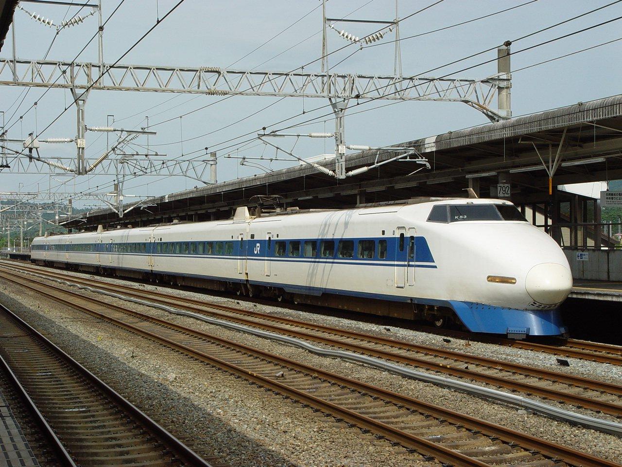 Shinkansen Bullet Train Now 50 Years Old