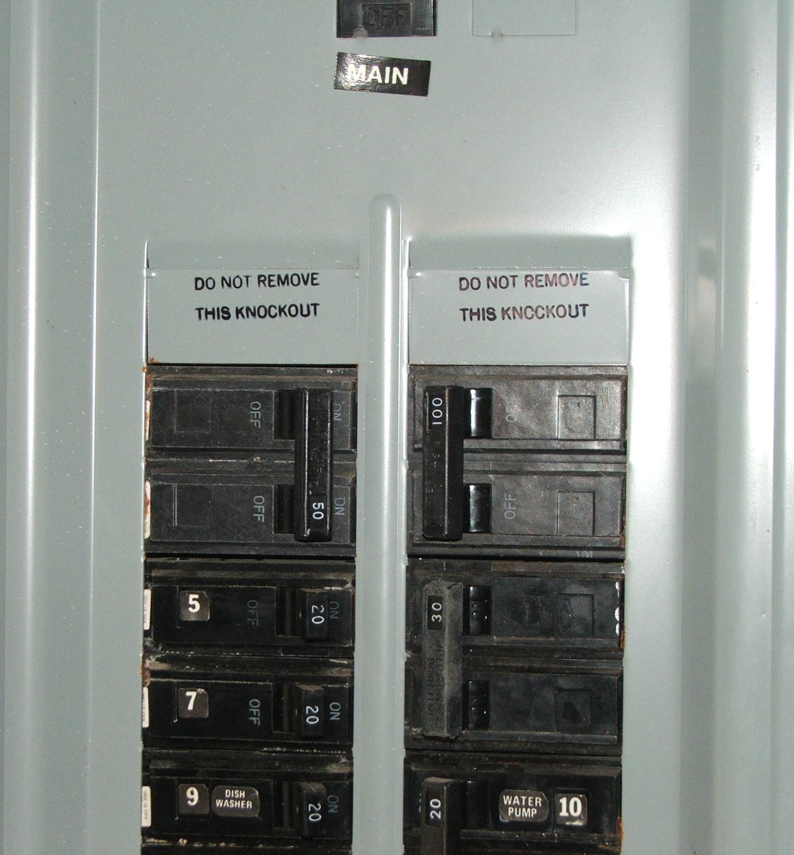 Main Distribution Board Or Fuse Boards Main Distribution Board Or Fuse