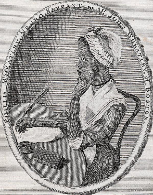 Phillis Wheatley African American