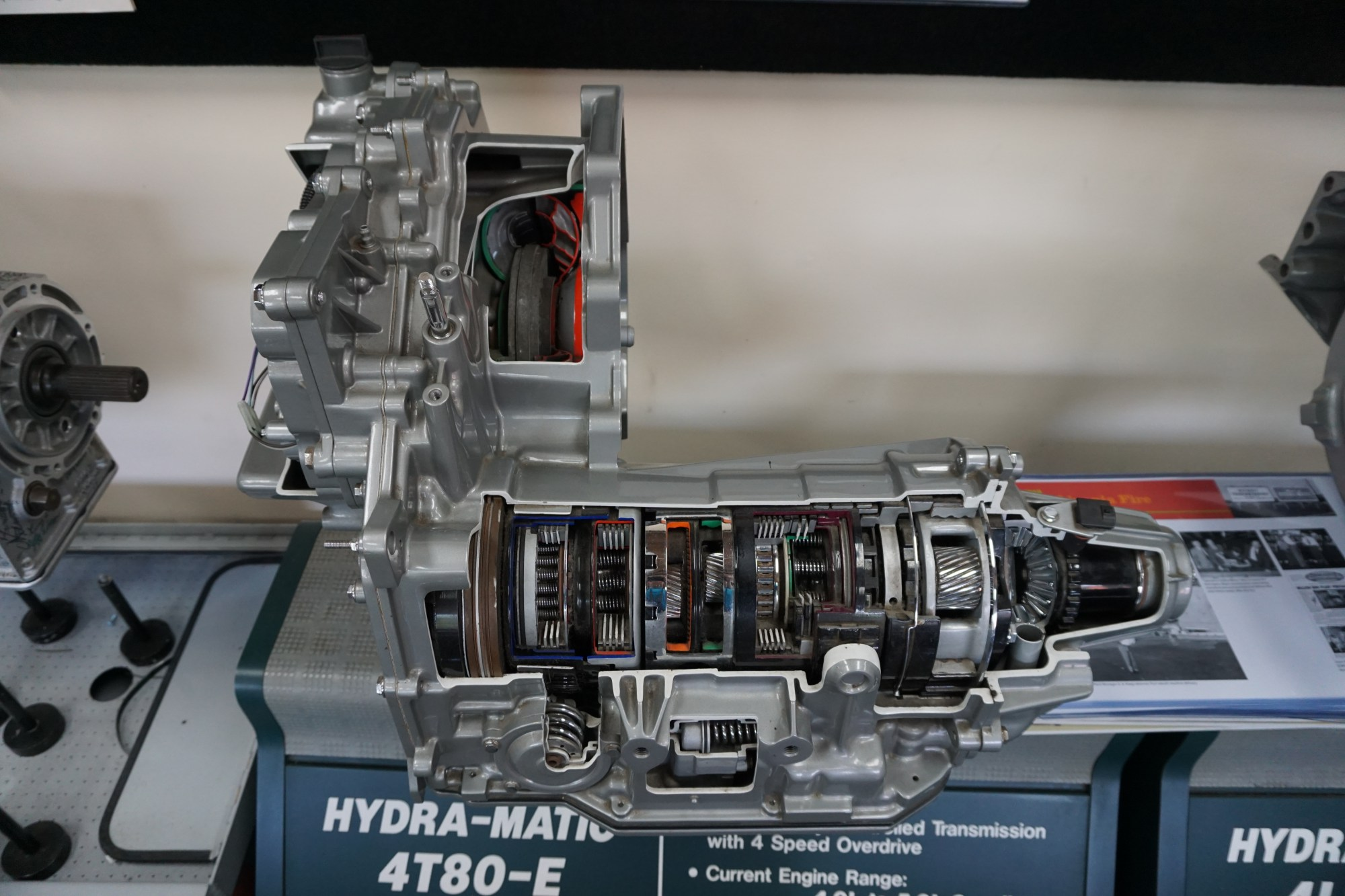 hight resolution of gm 4t80 transmission