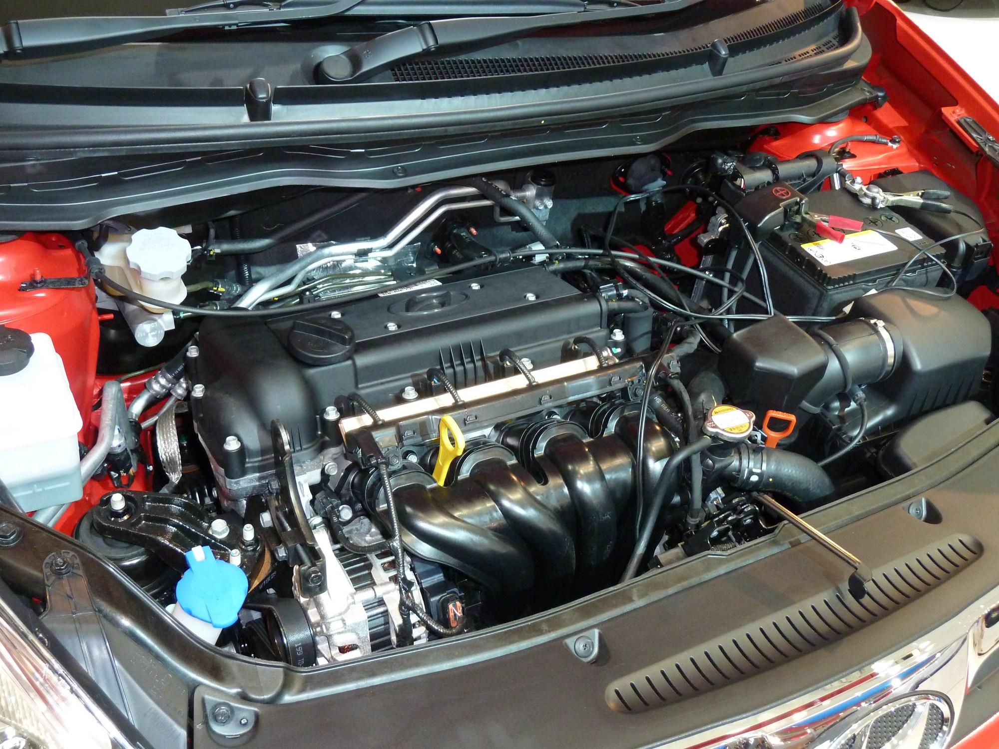 hight resolution of hyundai gamma engine