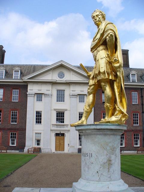 Statue of Charles II Royal Hospital Chelsea  Wikipedia