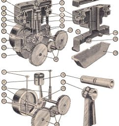 file four stroke single cylinder engine components manual of driving and maintenance [ 990 x 1262 Pixel ]