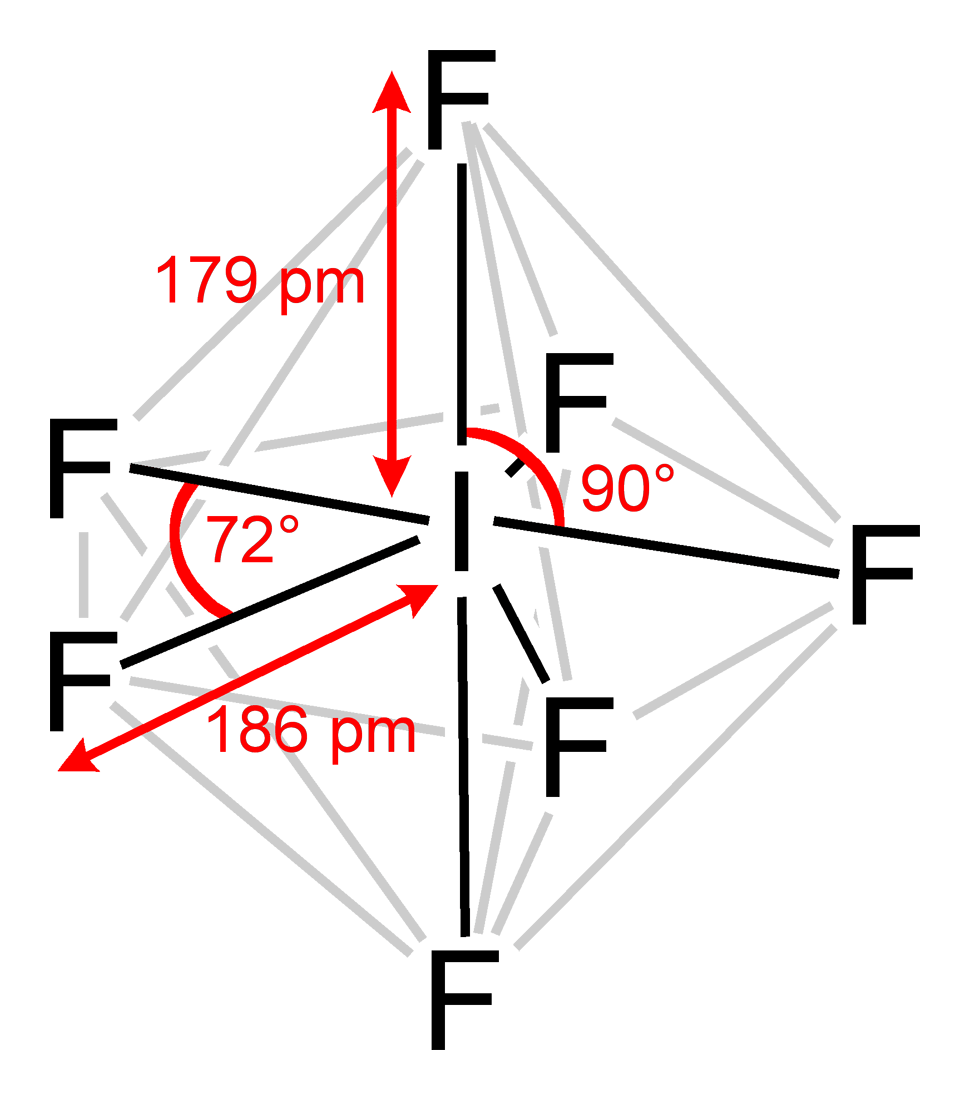medium resolution of iodine heptafluoride