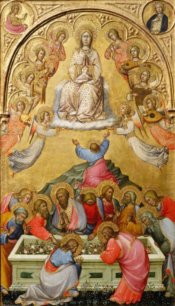 File Paolo Di Giovanni Fei. Assumption Of Virgin