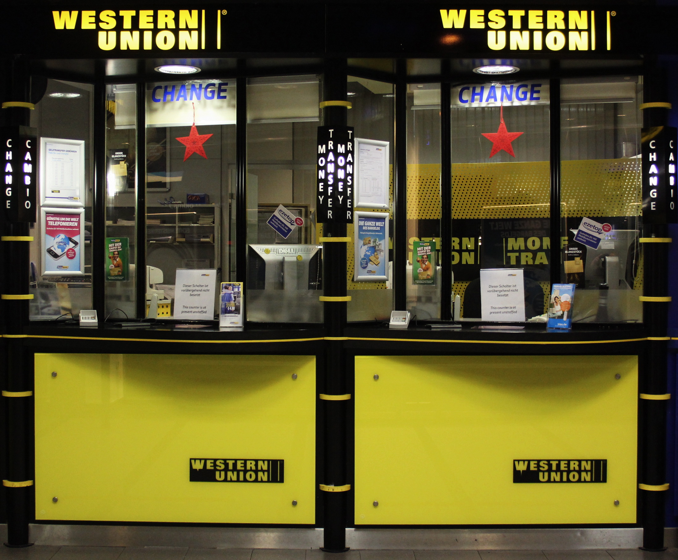 western union responds to bitcoin buzz sort of