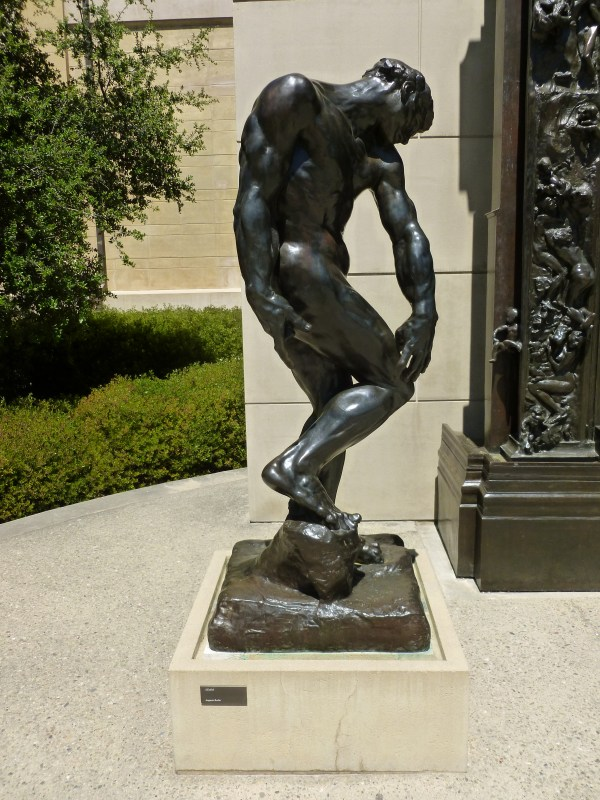 Rodin Sculpture Adam