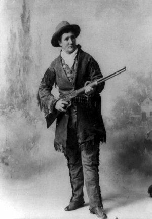 Calamity Jane, notable pioneer frontierswoman ...