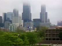 File Chicago Downtown In Fog Uic