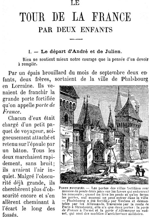 """""""Le Tour de la France par deux enfants d'aujourd'hui"""