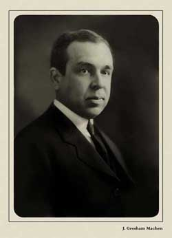 English: Rev.John Gresham Machen. Orthodox Pre...