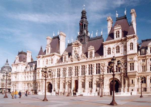 File Paris Hotel De Ville - Wikimedia Commons