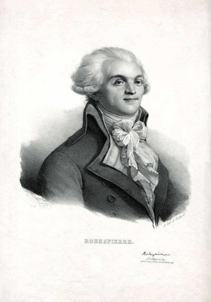 Robespierre Delpech Grevedon