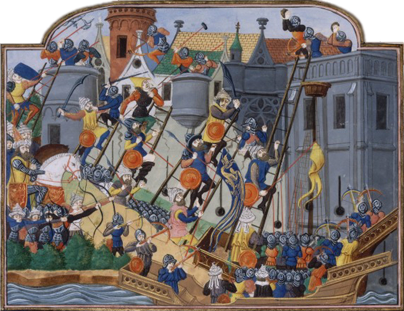Siege of Constantinople.