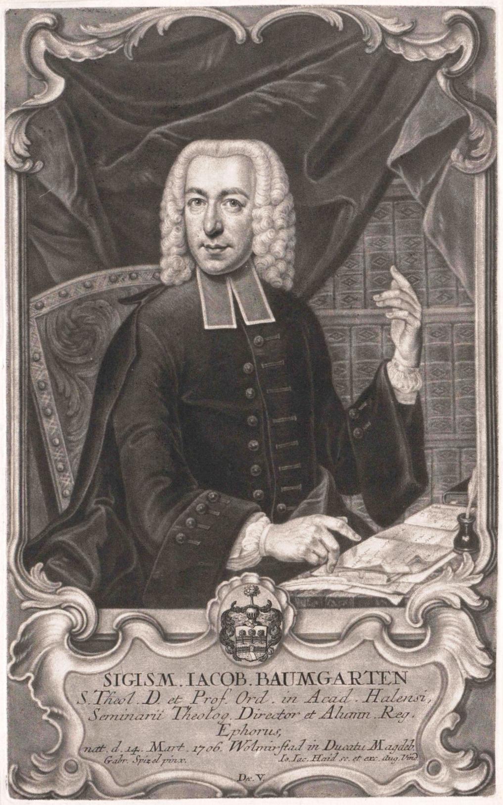 Siegmund Jakob Baumgarten Wikipedia