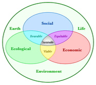 "English: The ""three pillars"" of sust..."