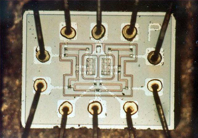 Circuito integrado da espaçonave Apolo
