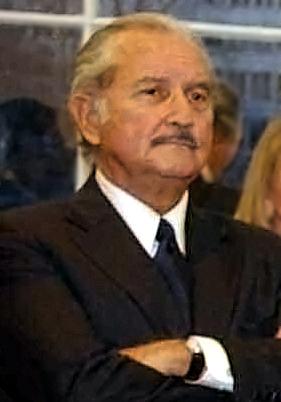 Mexican writer Carlos Fuentes.