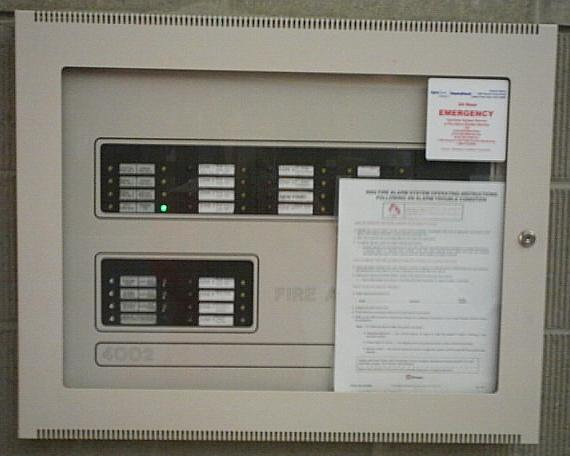 Fire Control Panel Wiring Diagram