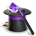 Wizard hat icon