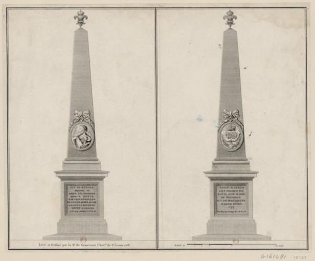obélisque épieds 1777