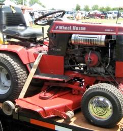 file 1986 wheel horse 520 h garden tractor s jpg [ 2210 x 1717 Pixel ]